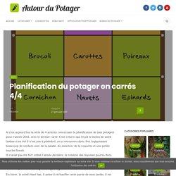 Le potager en carrés : la planification des cultures 4/4