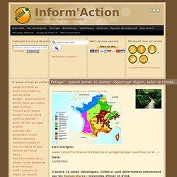 Potager : quand semer et planter région par région, selon le climat….
