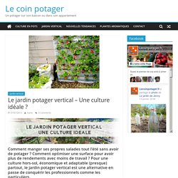 Le jardin potager vertical – Une culture idéale ?