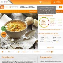 Potaje de garbanzos con fideos - Nestlé Cocina