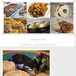 Potatisrulltårta med marinerad karré & parmesansås