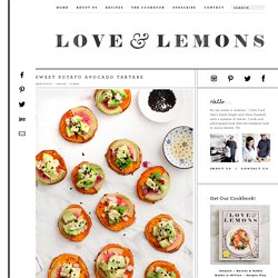 Sweet Potato Avocado Tartare Recipe - Love and Lemons