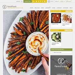 Za'atar Sweet Potato Fries with Brown Butter Labneh recipe