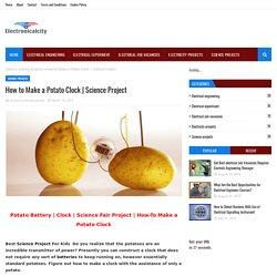 How to Make a Potato Clock