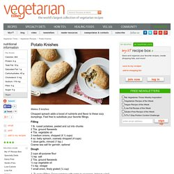 Potato Knishes Recipe