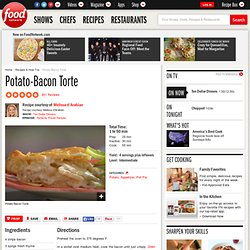 Potato-Bacon Torte Recipe : Melissa d'Arabian