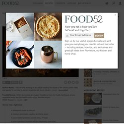 Sweet Potato Parsnip Latkes with Feta and Leeks recipe from Food52