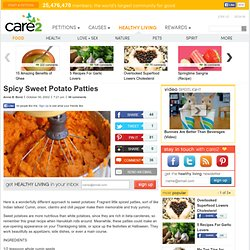 Spicy Sweet Potato Patties