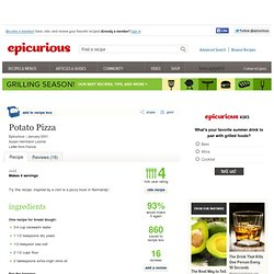 Potato Pizza Recipe