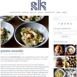 potato vareniki