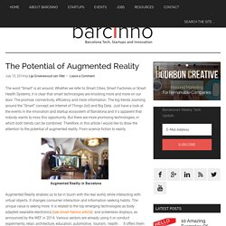 The Potential of Augmented Reality - Barcinno