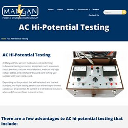 AC High Potential Testing Services