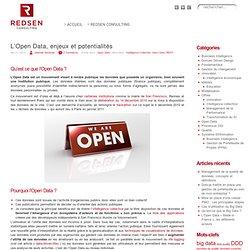 L'Open Data, enjeux et potentialités « Redsen