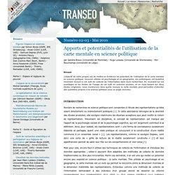 Apports et potentialités de l'utilisation de la carte mentale en science politique - Transeo Review