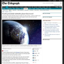 Fourth potentially habitable planet discovered