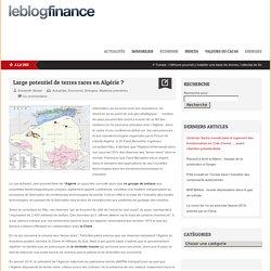 Large potentiel de terres rares en Algérie?