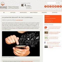 Le potentiel éducatif de l'art numérique