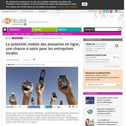 Le potentiel mobile des annuaires en ligne, une chance à saisir pour les entreprises locales