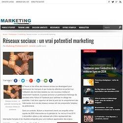 Réseaux sociaux : un vrai potentiel marketing - Marketing Profes