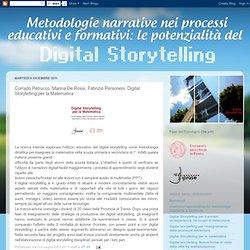 le potenzialità del DIGITAL STORYTELLING: Corrado Petrucco, Marina De Rossi, Fabrizio Personeni: Digital Storytelling per la Matematica