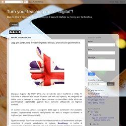 App per potenziare il vostro inglese: lessico, pronuncia e grammatica
