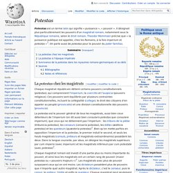 Potestas - Wikipedia