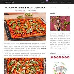 Potimarron grillé & Pesto d'épinards - Iznowgood