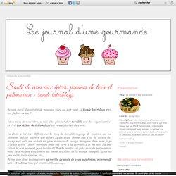 Sauté de veau aux épices, pommes de terre et potimarron : ronde interblogs - Le journal d'une gourmande