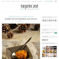 Sorbet de potimarron aux épices {recette}Tangerine Zest