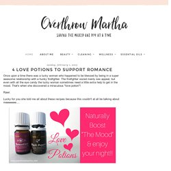 4 Love Potions To Support Romance
