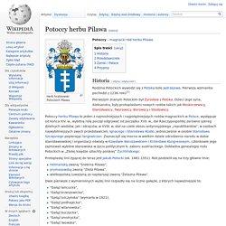 Potoccy herbu Pilawa