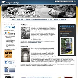Potomac Review home page