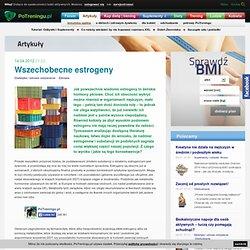 PoTreningu.pl - Wszechobecne estrogeny
