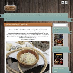 Try Pots Clam Chowder – Moby Dick – The Inn at the Crossroads