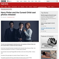 Harry Potter and the Cursed Child cast photos released