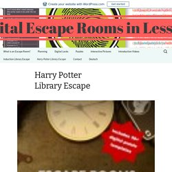 Digital Escape Rooms in Lessons
