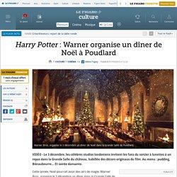 Harry Potter : Warner organise un dîner de Noël à Poudlard