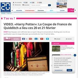 20 MINUTES - VIDEO. «Harry Potter»: La Coupe de France de Quidditch a lieu ces 20 et 21 février