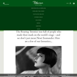 s guide to the twenties: 20 pop icons - Pottermore