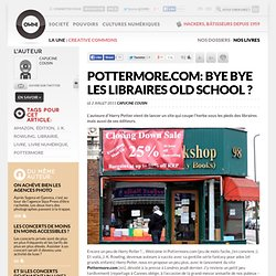 Pottermore.com: bye bye les libraires old school ?