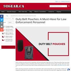 Duty Belt Pouches