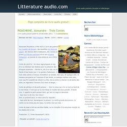 POUCHKINE, Alexandre – Trois Contes