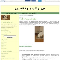 Poudre lave-vaisselle - La p'tite bouille ZD