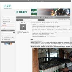 Forum L'Atelier Paysan - Poulailler pondeuses AB 400 et 700 poules (V1 et V2) : Volaille