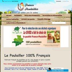 France-Poulailler : Poulaillers en Bois 100% Français - France-Poulailler.com