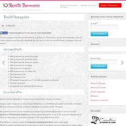 Poulet basquaise Thermomix
