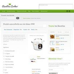Poulet cancoillotte au vin blanc WW