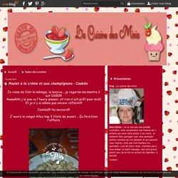 Poulet à la crème et aux champignons - Cookéo