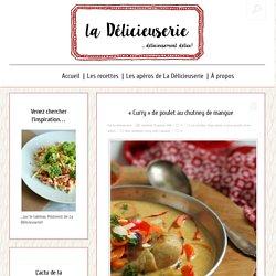 """""""Curry"""" de poulet au chutney de mangue — La délicieuserie"""