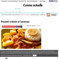Poulet créole à l'ananas, facile et pas cher